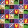 Adesivos De Parede - Azulejos Vingadores 538 - Avengers