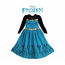 Vestido Elsa Frozen Coroação Da Rainha
