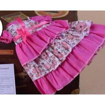 Vestido Roupa Bebê Reborn ( Veste De 40 A 53cm)