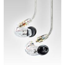 Fone De Ouvido Shure Se215 Cl In-ear Clear Original + Case