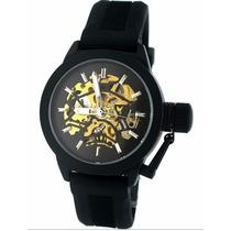 Relógio Militar Royale Mr057 Automático Skeleton Sport