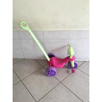 Triciclo Infantil C/ Empurrador Motoca Passeio Bike Usado