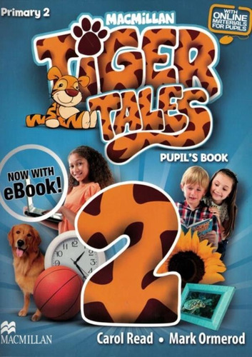 Tiger Tales 2 Pupil´s Book Pack With E-book