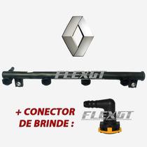 Flauta Bico Injetor Clio 1.6 16v Scenic Logan - 8200139674