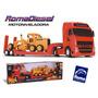 Caminhão Roma Diesel Globetrotter E Trator Motoniveladora...