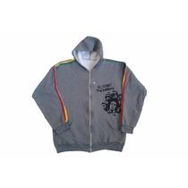 Blusa Bob Marley Moletom Jaqueta Reggae
