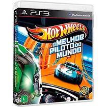 Jogo Hot Wheels: O Melhor Piloto Do Mundo Para Playstation 3