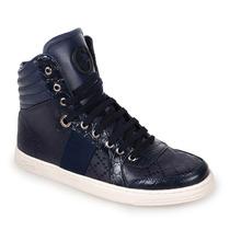 Sneaker Gucci Azul Escuro Com Branco - Boot - Tênis - Lv