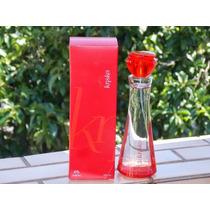 Colônia Perfume Kriska Natura 50 Ml + 3 Amostras Grátis