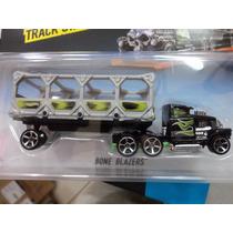 Miniatura Caminhão Hot Wheels Track Star Bfm60 - Mattel
