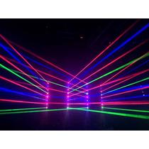 Ribalta Moving Beam C/ Movimento Tilt Laser 8 Saidas Rgb Pro