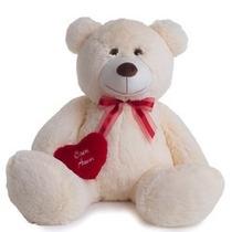 Urso De Pelúcia Gigante Coração Amor Eu Te Amo Varias Cores