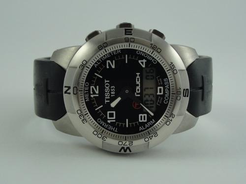 95a523fc2b7 Relógio Tissot T-touch Titanium - Swiss Made - Original. Preço  R  1350  Veja MercadoLibre