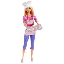 Boneca Barbie Quero Ser Chef Mattel