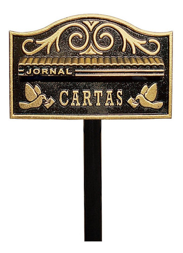 Caixa Correio(correspondencia) Americana Pedestal Condominio