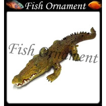 Enfeite De Resina Soma Action Crocodilo Fish Ornament