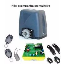 Kit Motor Automatizador Portão Deslizante Nano Rossi