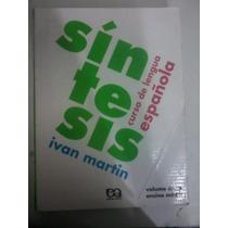 Livro - Espanhol Síntesis Curso De Espanhol
