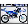 Kit Adesivos Personalizados Yamaha - Yz Yzf Wr Wrf 250 450