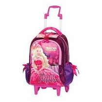 Mochila Rodas Barbie A Princesa Pop Star