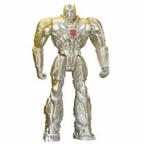 Boneco Transformers 4 Optimus Prime Silver Knight Hasbro