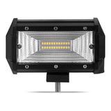 Farol De Barra Led 10~30v 72w Frizz Jeep Troller Pick-up