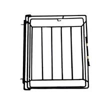 Lixeira Dobrável De Portão E Parede , Aço Carbono / F.grátis