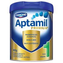 Kit Econômico C/5 Latas Leite Aptamil 1 Premium 800g Cada