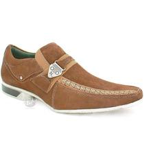 Sapato Masculino Esporte Fino / 100% Couro - Franca