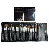 Pincel Maquiagem Linha Profissional Kit C/ 22 - Macrilan Top
