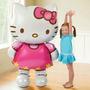 Balão Metálico Hello Kitty Gigante 80 Cm Frete Grátis