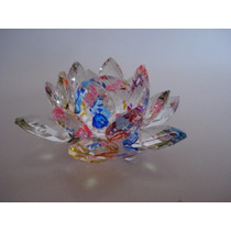 Flor De Lótus De Cristal Boreal 9cm
