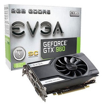 Placa De Video Geforce Nvidia Gtx 960 Superclocked 02g-p4-2