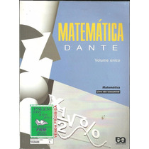 Matematica Dante Volume Unico