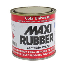 Cola-sapateiro-maxi Rubber-lata Pequena -193,5g-cada
