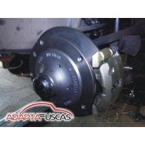 Kit Freio A Disco Dianteiro Fusca Antigo Embuchamento 5x205