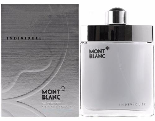 Perfume Individuel Mont Blanc Original Lacrado 75ml