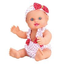 Boneca Bebe Milkinha Petit C/ Tiara Frete Grátis
