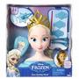 Cabeça Da Boneca Disney Frozen Elsa P/ Pentear C/ Acessórios