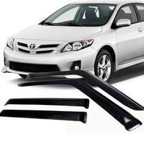 Calha Defletor Chuva Tgpoli Toyota Corolla Sedan 2012