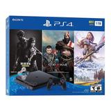 Ps4 Playstation 4 Slim 1tb God Of War Horizon The Last Of Us