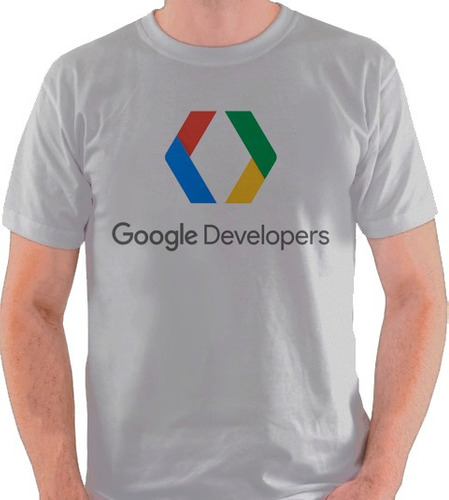 eddbaed487 Camiseta Google Developers Logo Internet Marca Camisa Blusa. R  34.9