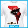 Camisetas God Of War, Games, Playstation 2, 3, 4, Pc, Jogo