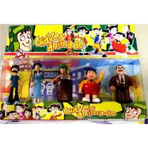 Chaves Animado - Coleção De Bonecos Da Turma Do Chaves