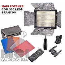 Ultra Potente Iluminador Led Yn-300 Pro 2280 Lux Cinema Red