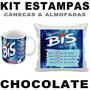 Estampas Chocolates Canecas