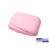Massa De Biscuit Polycol Rosa Bebê 1kg