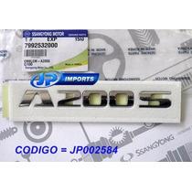 Emblema A200s Porta Actyon Sport 79925-32000 Jp002584