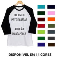 85e7a59a44 Busca Camiseta longline Lisa Para Sublimação com os melhores preços ...