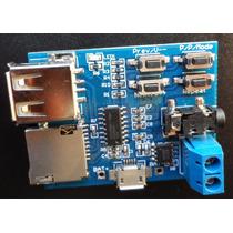Mp3 Decodificador Bordo Amplificador Módulo(pronta Entrega)
